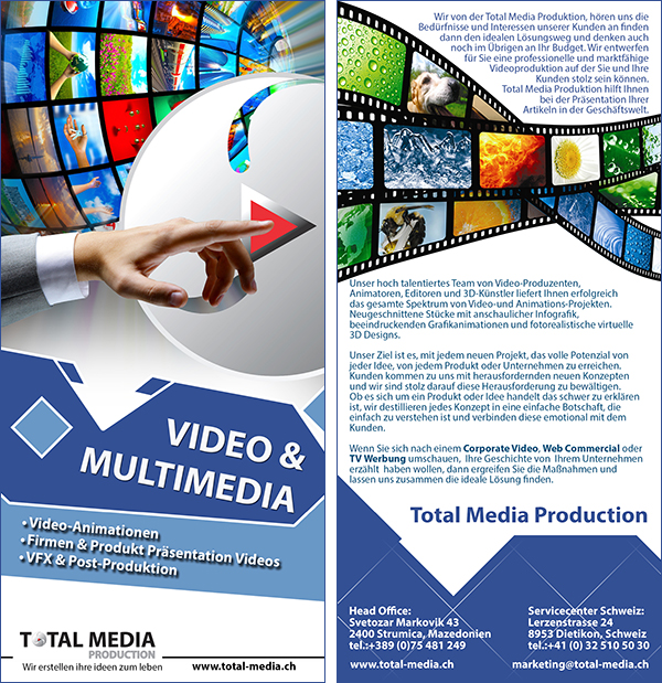 Flyers video and multimedia
